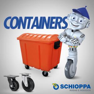 Schioppa - Aplicações: containers