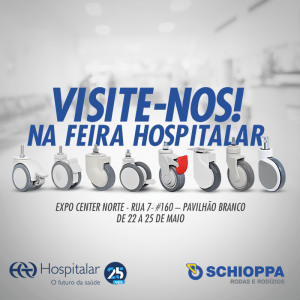 Schioppa na Feira Hospitalar 2018