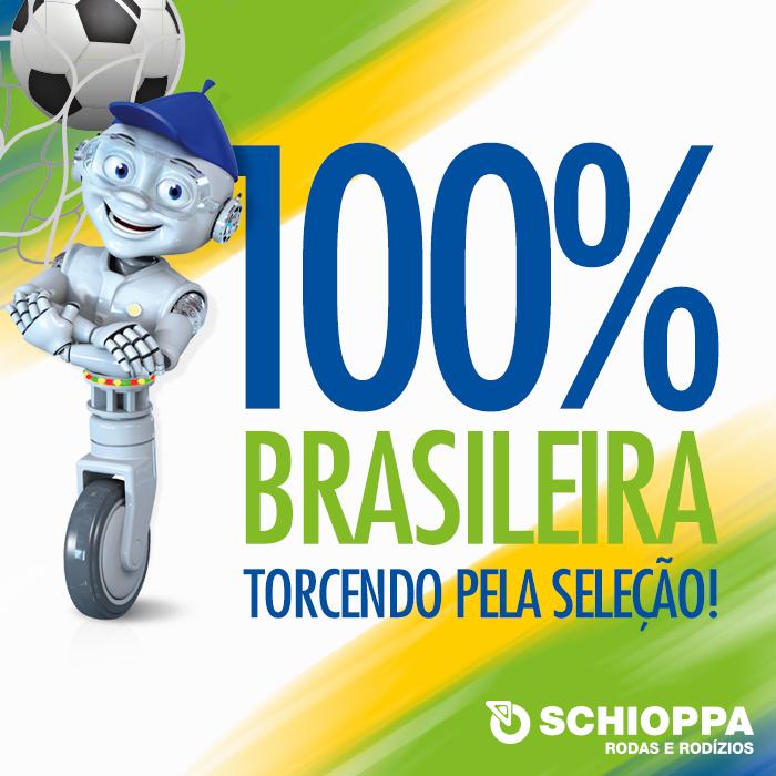 Schioppa, torcendo pela Seleção no Mundial!