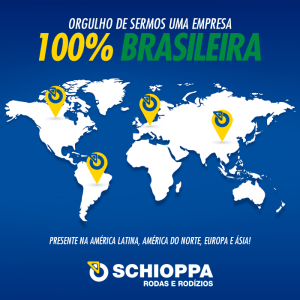 Schioppa, 100% Brasileira!